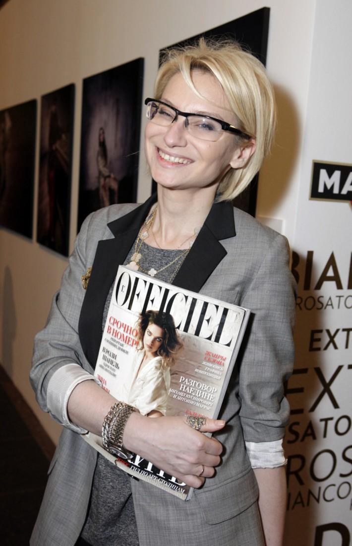 Эвелина Хромченко главный рерактор журнала «L'Officiel»