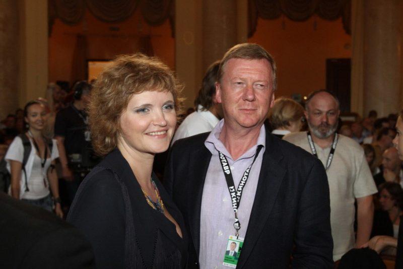 Анатолий Чубайс с Авдотьей Смирновой