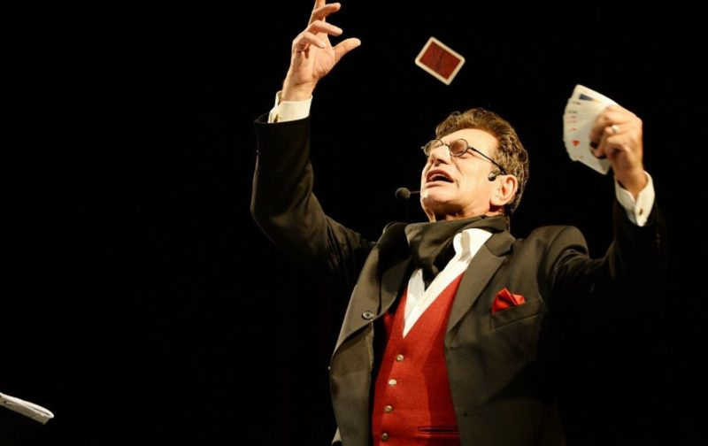 Евгений Князев на спектакле в театре