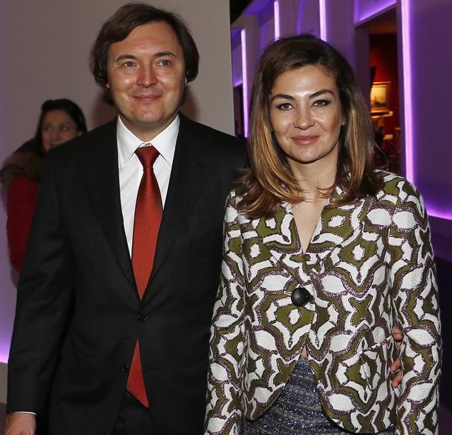 Андрей Молчанов с женой Елизаветой Молчановой
