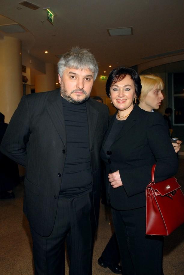 Игорь Бухаров и его жена Лариса Гузеева