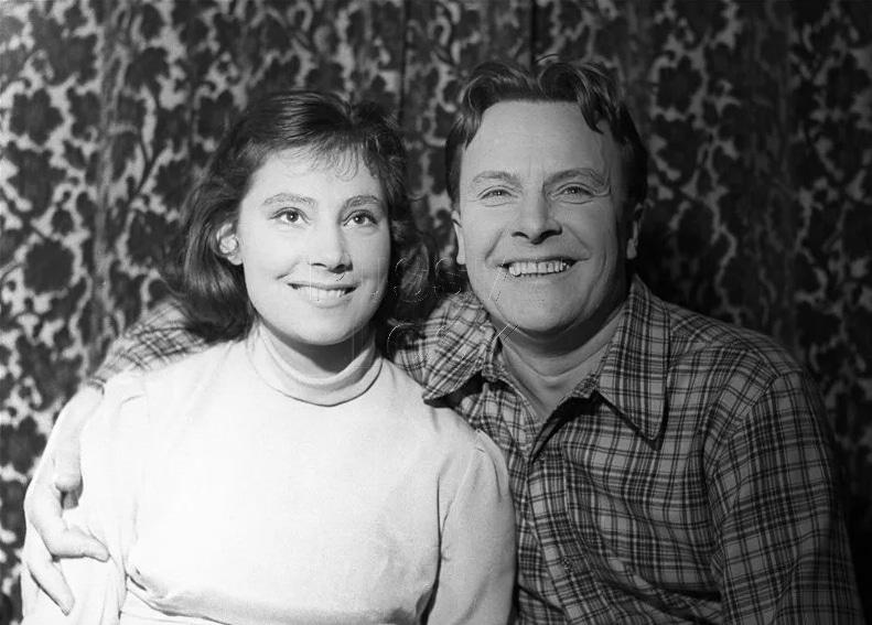 Евгений Самойлов с дочерью Татьяной
