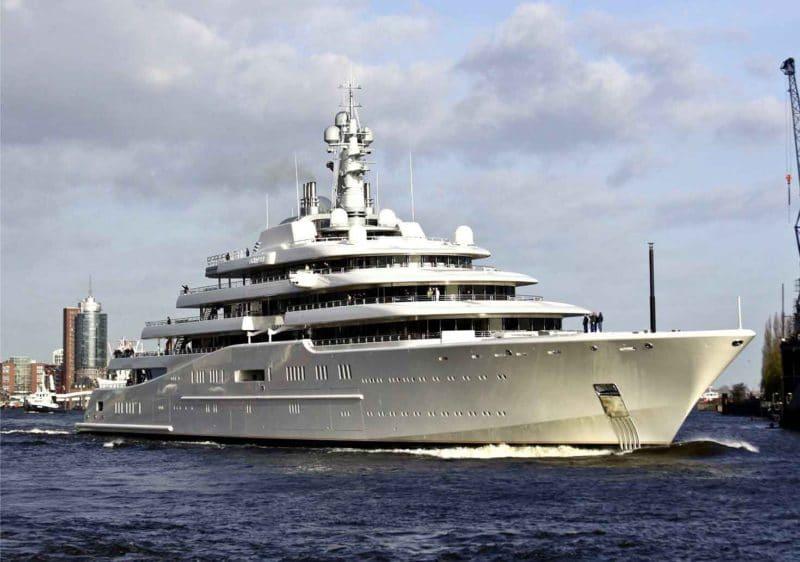 Яхта Абрамовича стоимостью $800