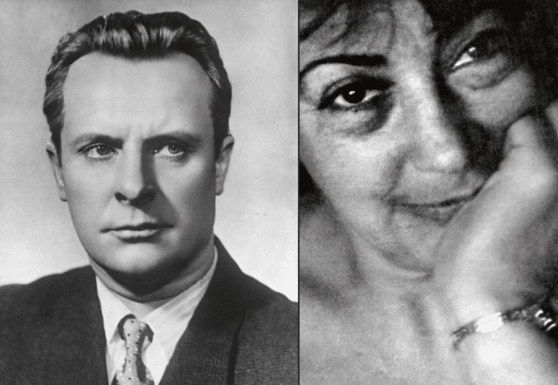 Евгений Самойлов и его жена Зинаида Левина