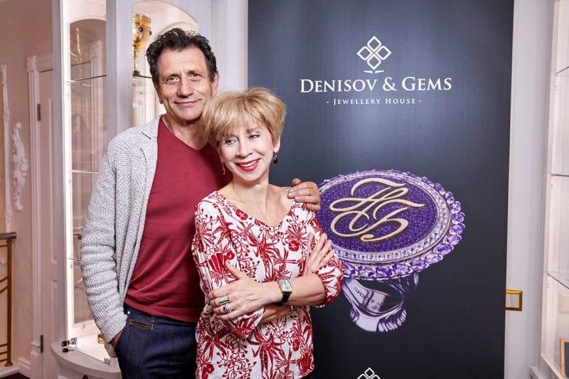 Евгений Князев с женой Еленой Дунаевой