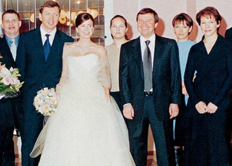 Свадьба Олега и Полины Дерипаски