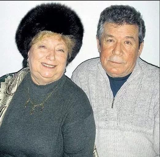 Валерий Рыжаков с женой Валентиной Ивановной