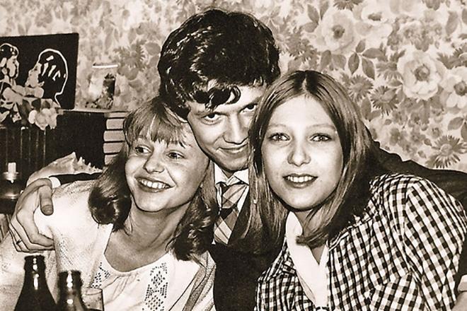 Марина Шиманская с мужем Альгисом Арлаускасом в молодости