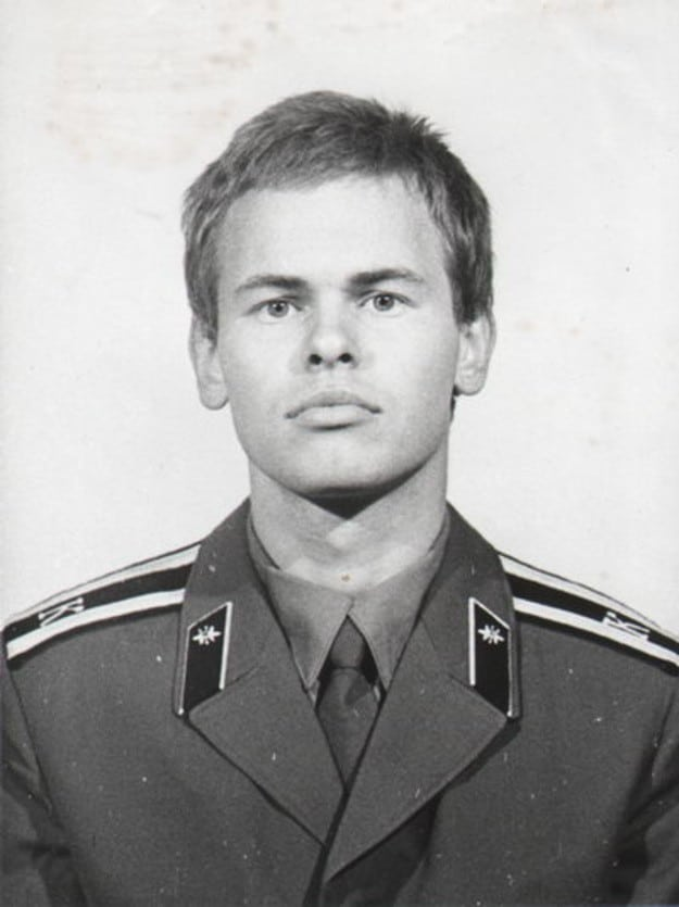 Евгений Касперский во время учебы в школе КГБ