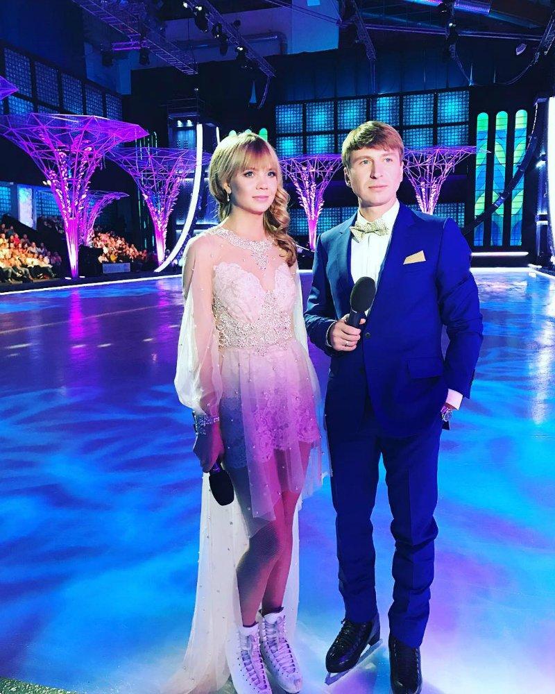 Алла Михеева ведет шоу «Ледниковый период»