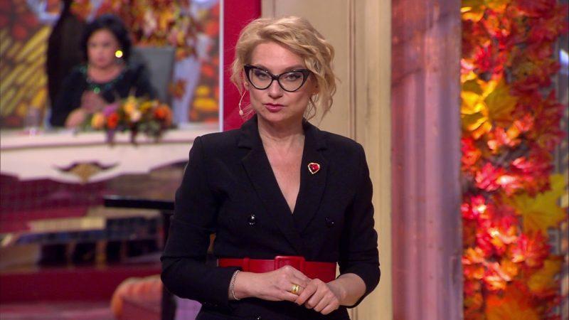 Эвелина Хромченко в передаче «Модный приговор»
