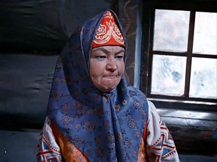 Вера Алтайская в фильме «Морозко»