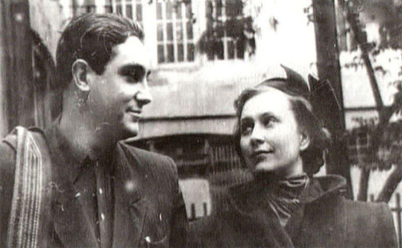 Павел Луспекаев с женой Инной Кирилловой