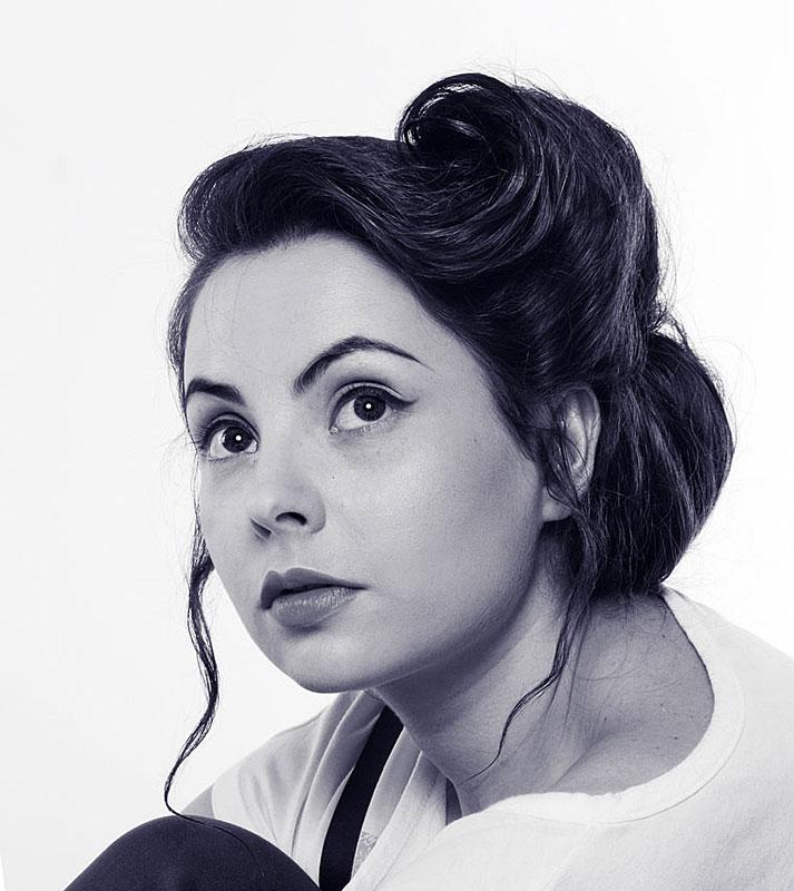 Валерия Ходос в молодости