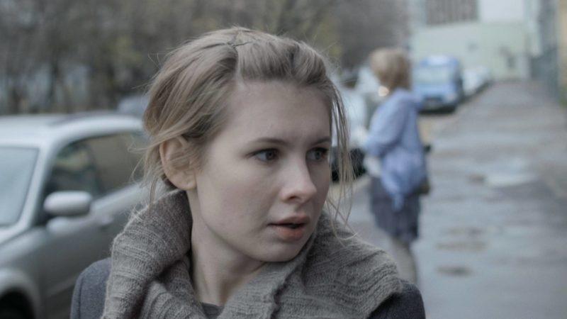 Анна Цуканова в фильме «Параллельные прямые пересекаются в бесконечности»