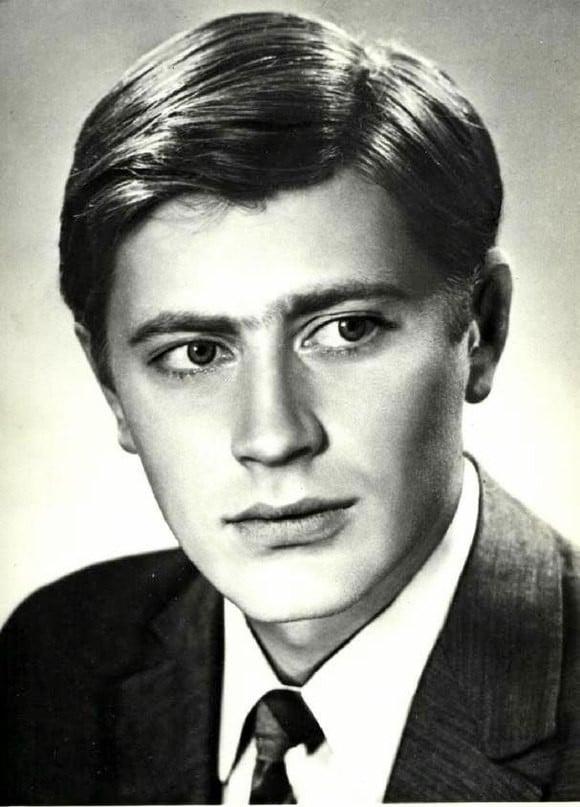 Валентин Смирнитский в молодости