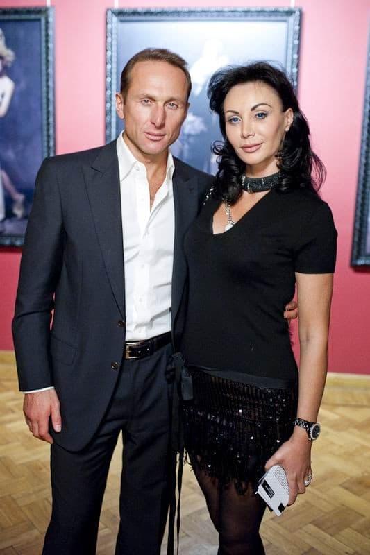 Игорь Кесаев с женой Стеллой Кей