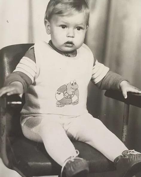 Евгения Лоза в детстве