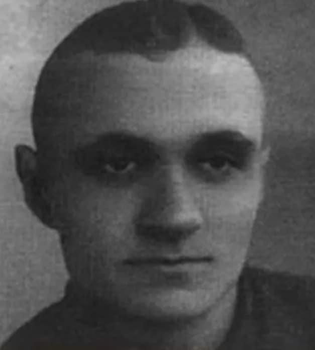 Георгий Милляр в юности