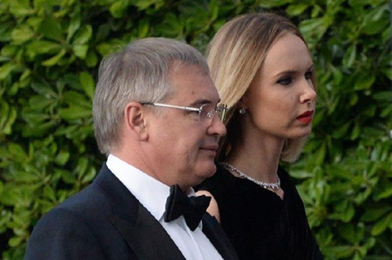 Виталий Южилин с женой Илоне Столье