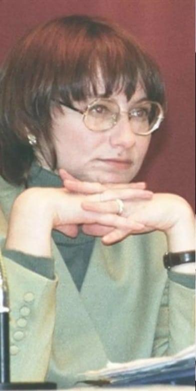 Эвелина Хромченко в молодости