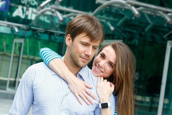Иван Жидков с Лилией Соловьевой