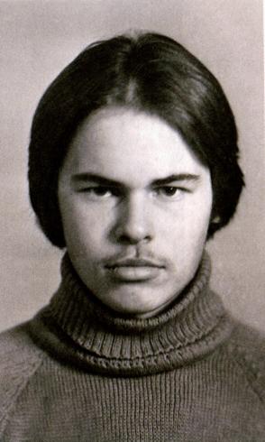 Евгений Касперский в молодости