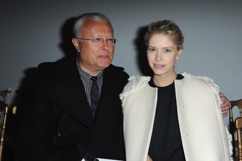 Александр Лебедев и его вторая жена Елена Перминова