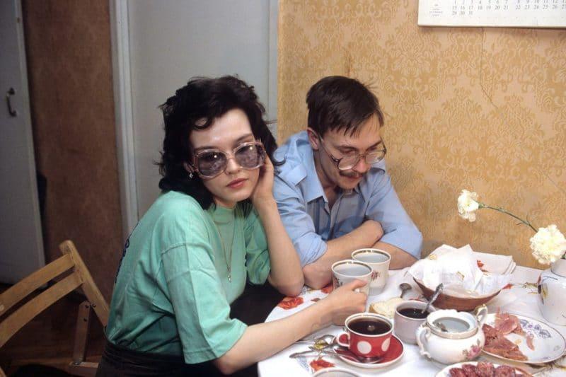 Молодой Герман Стерлигов с женой Аленой