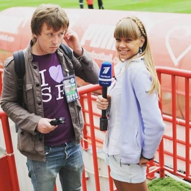 Алла Михеева с Сергеем Канчером