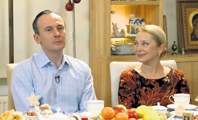 Галина Беляева с Сергеем Дойченко