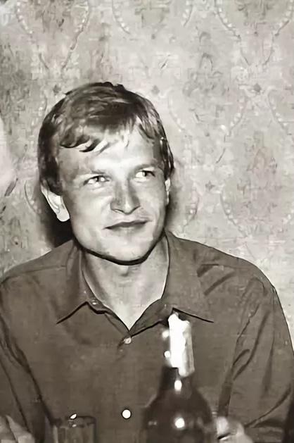 Александр Тютин в молодости
