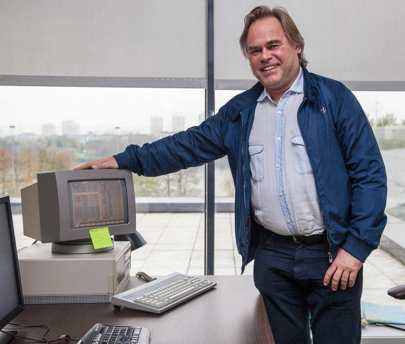 Программист Евгений Касперский