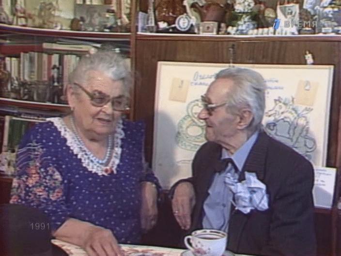 Георгий Милляр с женой Марьей Васильевной