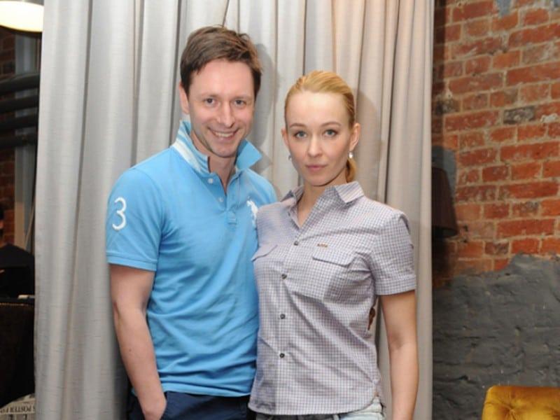 Анастасия Панина и ее муж Владимир Жеребцов