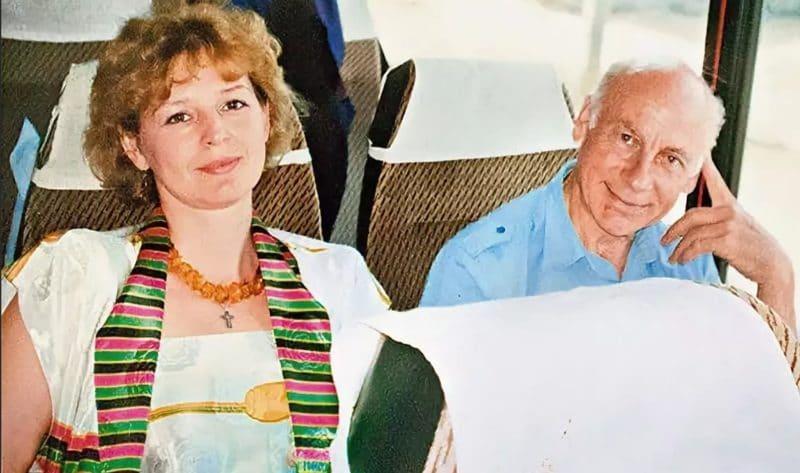 Татьяна Ташкова с мужем Евгением Ташковым