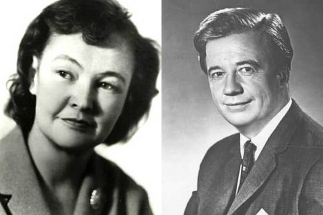 Вера Алтайская и Алексей Консовский