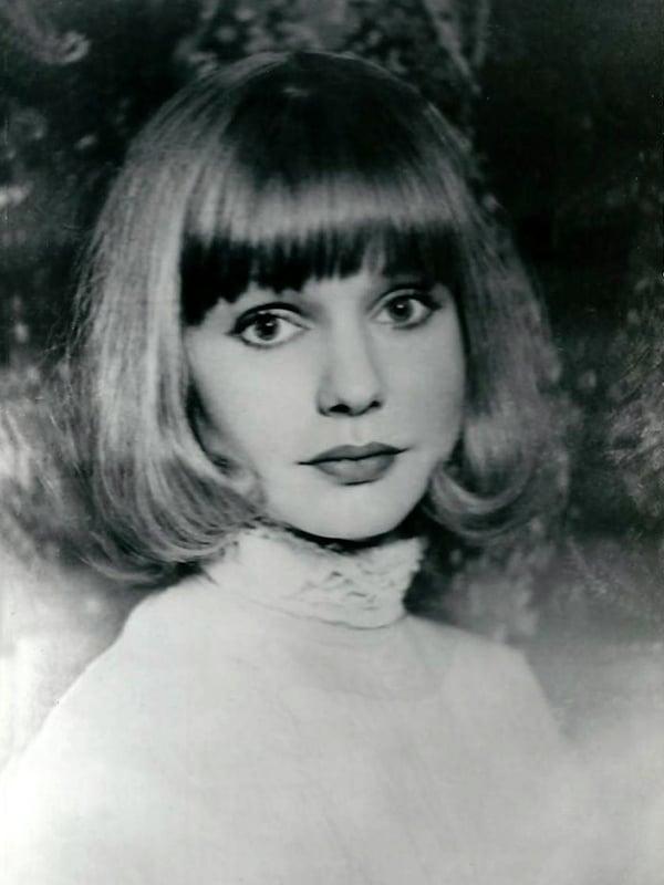 Марина Шиманская в юности
