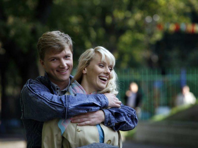Анастасия Савосина с Сергеем Мухиным