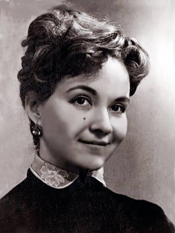 Маргарита Володина в юности
