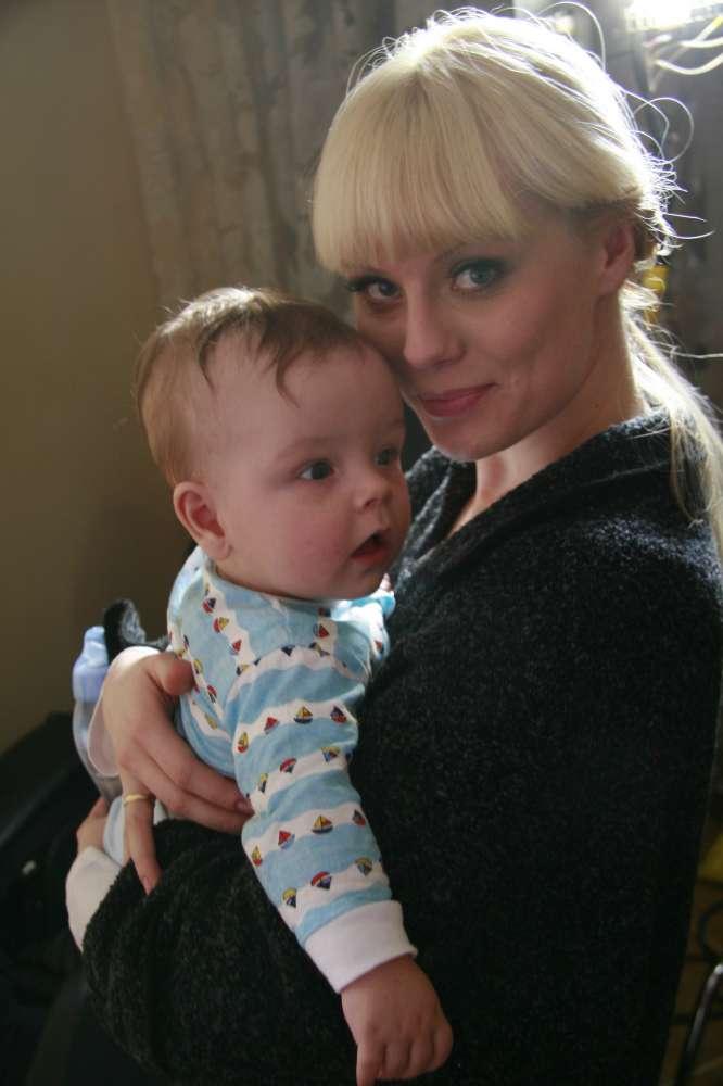 Анастасия Савосина с сыном