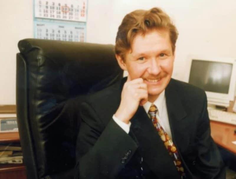Алексей Миллер в начале карьеры