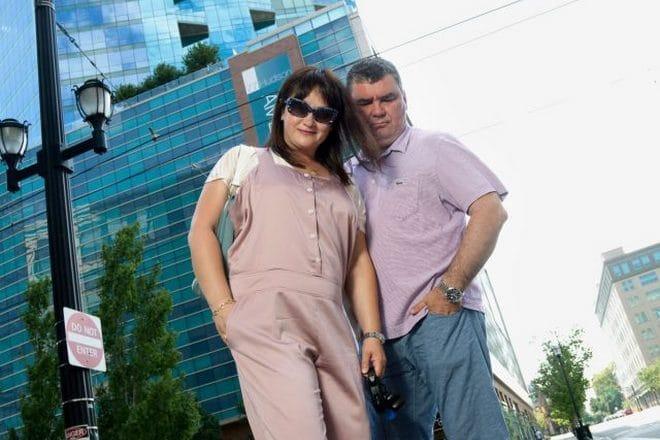 Ирина Шмелева с Николаем Боголюбовым