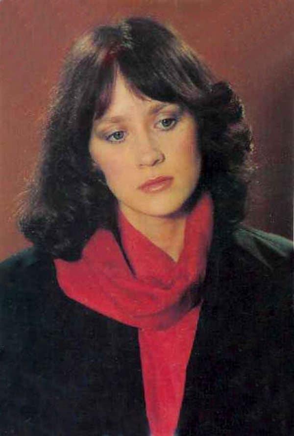 Ирина Шмелева в молодости