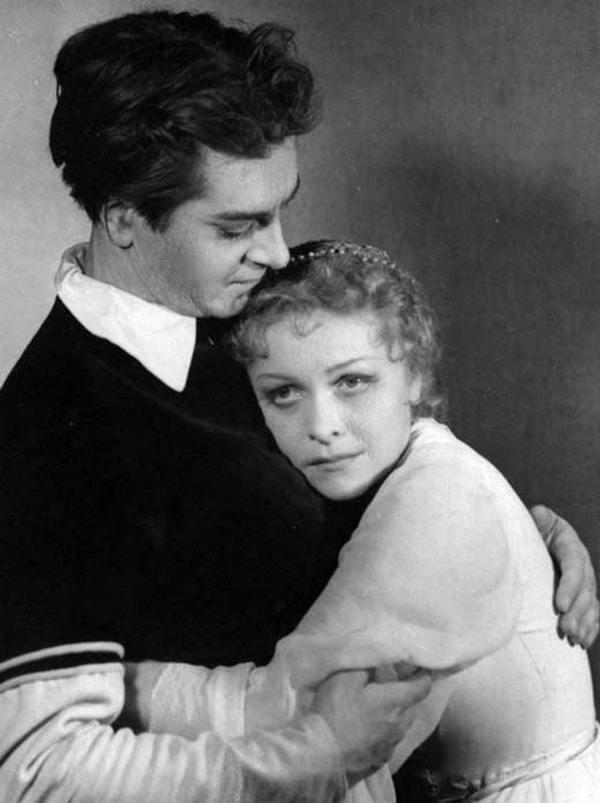 Людмила Целиковская с последним мужем Юрием Любимовым