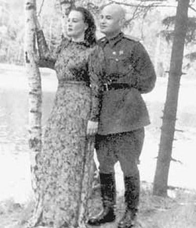 Татьяна Окуневская с Борисом Горбатовым