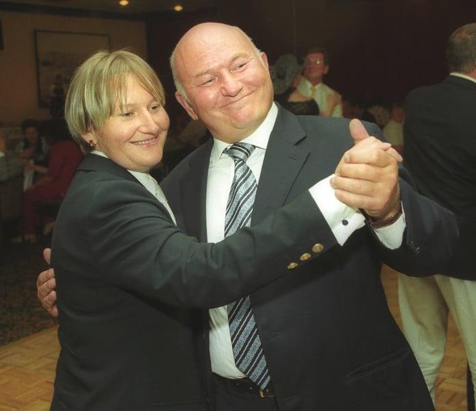 Елена Батурина с Юрием Лужковым