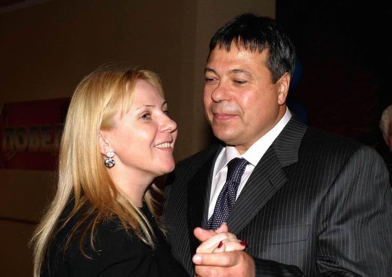 Сергей Михайлов женой с Людмилой Анатольевной