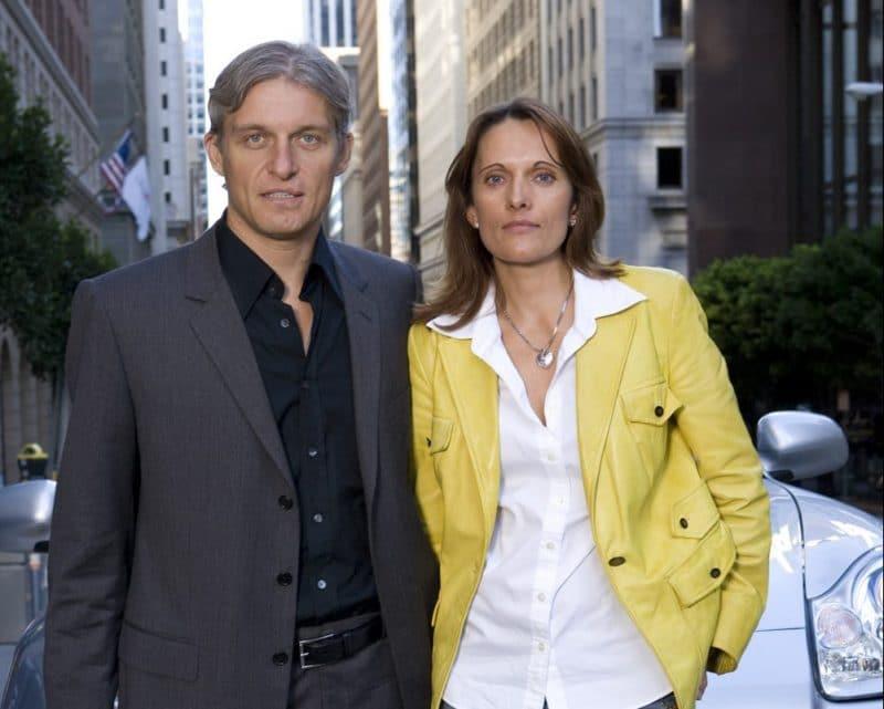 Олег Тиньков и его жена Рина Восман