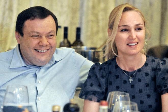 Михаил Фридман и Оксана Ожельская